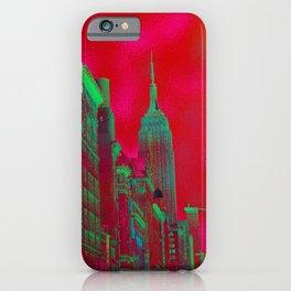 New York by Lika Ramati iPhone Case