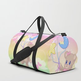 Floating Through Dreamland Duffle Bag