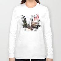 poland Long Sleeve T-shirts featuring Poland - Krawkowskie Przedmiescie, Warsaw by viva la revolucion