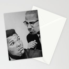 The Great Muhammad and Malcolm Stationery Cards
