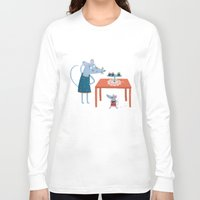 toddler Long Sleeve T-shirts featuring Missing cupcake by Villie Karabatzia