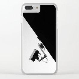 Surveillance Clear iPhone Case