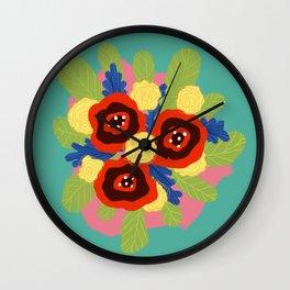 Bouquet #1 Wall Clock