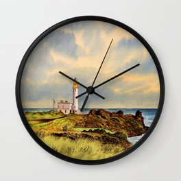 Turnberry Golf Course Scotland 9th Tee Wall Clock