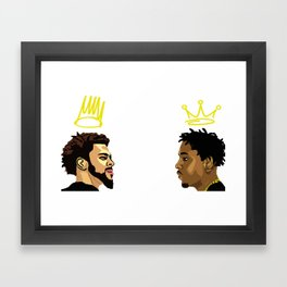 2 Kings. Kendrick Cole Framed Art Print