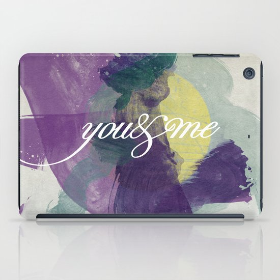 you&me iPad Case
