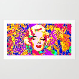 Marilyn - Colour Art Print