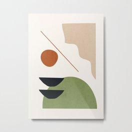 Abstract Art / Shapes 32 Metal Print