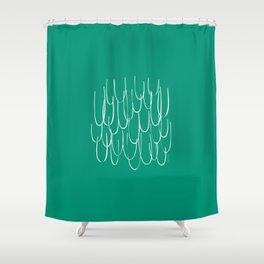 Cascading Water - Minimal FS - by Friztin Shower Curtain