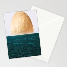 Gold Sunset Stationery Cards