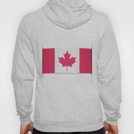 Flag of Canada. The slit in the paper with shadows. Hoody