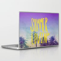 grease Laptop & iPad Skins featuring Summer Lovin' by Leah Flores