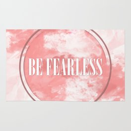 Be Fearless Rug