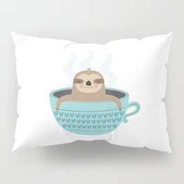 Sloth In A Cup Pillow Sham