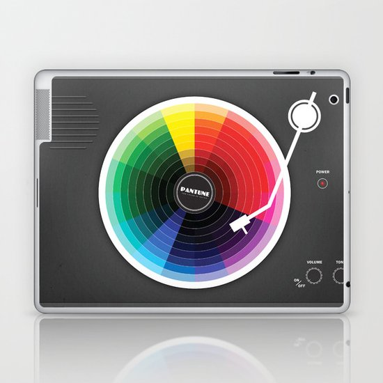 Pantune The Color Of Sound Laptop Amp Ipad Skin By Davies