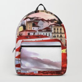 "Sunrise in Lisbon, ""Portas do Sol"" (Sun doors) Backpack"