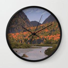 Parc National de la Mauricie Wall Clock