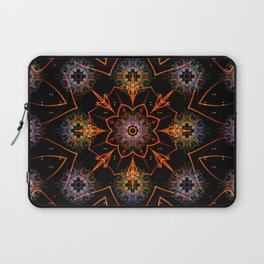 Floral Fractals Laptop Sleeve