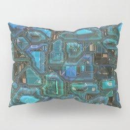 Green Blue Future Pillow Sham