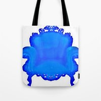 baroque Tote Bags featuring Baroque  by Xchange Art Studio