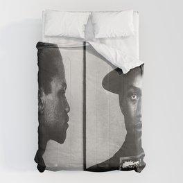 Malcolm X Mugshot 1944 Comforters