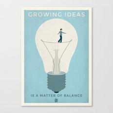 Growing ideas Canvas Print