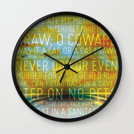 Palindrome Number 1 Wall Clock