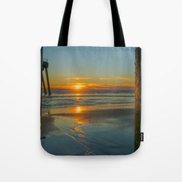 Sunset Bookends Tote Bag
