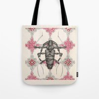 beetle Tote Bags featuring Beetle by Cullinan Les