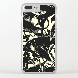 Birds and Berries Clear iPhone Case