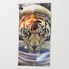 Astro Tiger Beach Towel