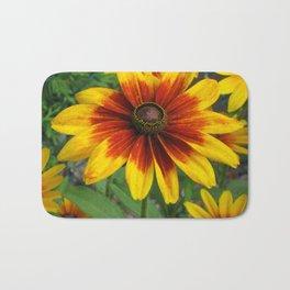 Flower | Flowers | Yellow Gaillardia Daisy | Nature Photography Bath Mat