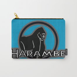 R.I.P HARAMBE Carry-All Pouch