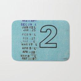 Ilium Public Library Card No. 2 Bath Mat