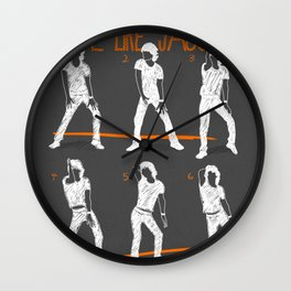 Move Like Jagger 2 Wall Clock