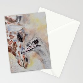 "240. ""Sheila and Sandy"" by M.Viljoen Stationery Cards"