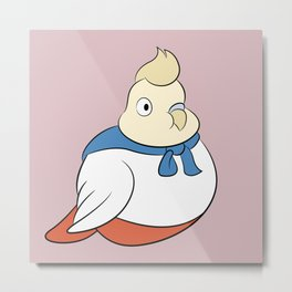 Steven Universe: Onion (Salmon Background) Metal Print