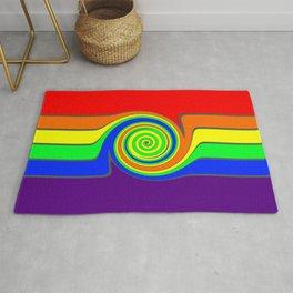 Rainbow With A Headache Rug