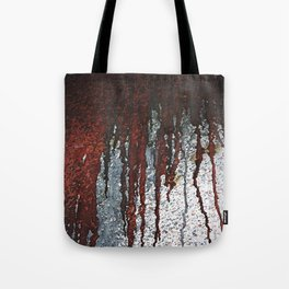 Bloody Rust Drips Tote Bag