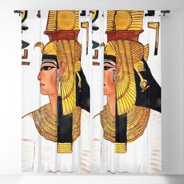 Queen Nefertari Blackout Curtain