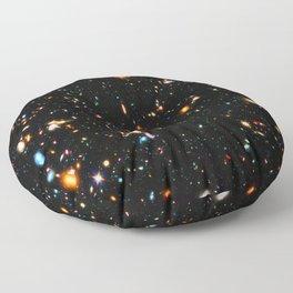 Hubble XDF Floor Pillow