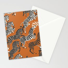 Zebra Race Stationery Cards