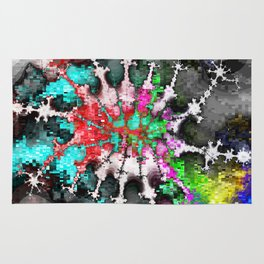 square dance music party Rug