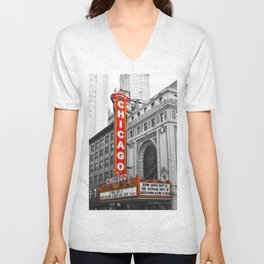 Chicago Theater Unisex V-Neck
