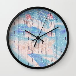 Utopia Flora Wall Clock