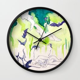 Reve de la Lune Wall Clock