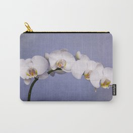 White Moth Orchid Carry-All Pouch