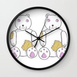 Old Teddy Wall Clock