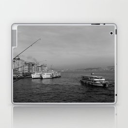 Bosphorus view from Galata Bridge Laptop & iPad Skin