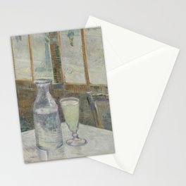 Vincent van Gogh - Café table with absinth (1887) Stationery Cards